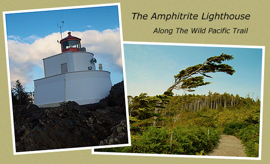 The Amphitrite LIghthouse is a 10 minute walk from Wild pacific Bed and Breakfast.