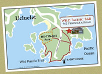 Ucluelet and Wild Pacific Trail Map