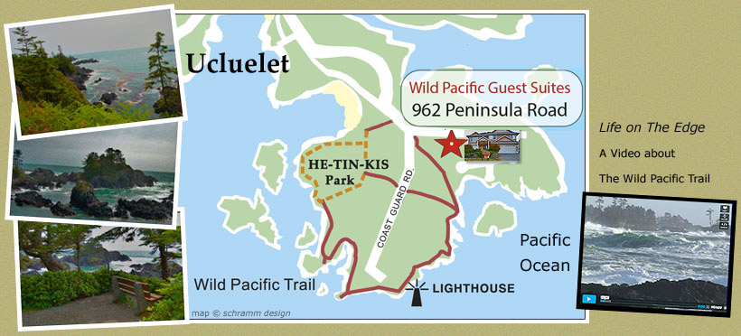 Learn about the Wild Pacific Trail, located in Ucluelet, British Columbia, Canada