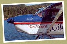 Ucluelet Air Tours West Coast Activities at Wild Pacific Bed and Breakfast, Ucluelet, Canada